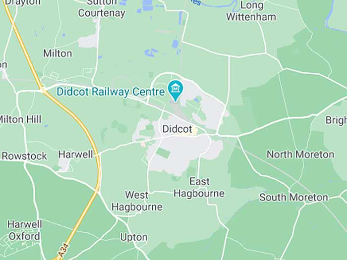 google map of didcot